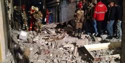 انفجار کپسول گاز دو واحد مسکونی را تخریب کرد+ تصاویر