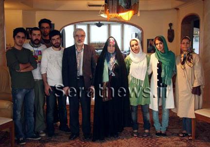 عکس جدید میر حسین موسوی و همسرش