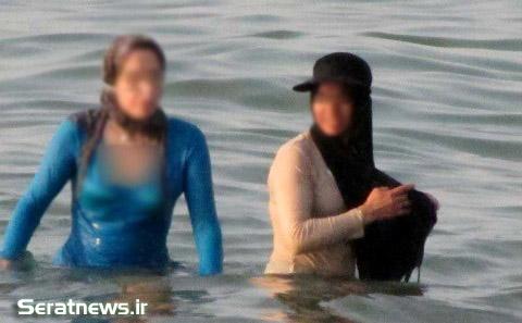 34679 340 اختلاط دختران و پسران در سواحل خصوصی شمال + تصاویر