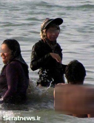 34682 776 اختلاط دختران و پسران در سواحل خصوصی شمال + تصاویر
