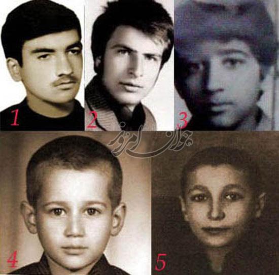 عکس کودکی کاندیداها