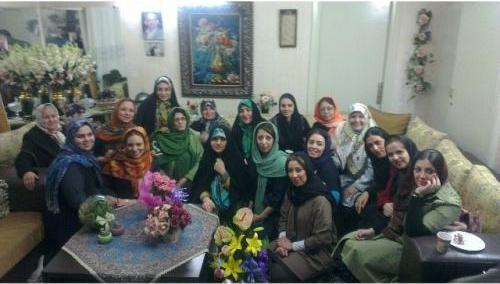 عکس/جشن زنانه همسران فتنهگران