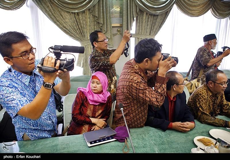 قیمت روپیه اندونزی در ایران امروز اقتصاد ایران آنلاین - تصاویر/دیدار وزیر فرهنگ ایران و اندونزی