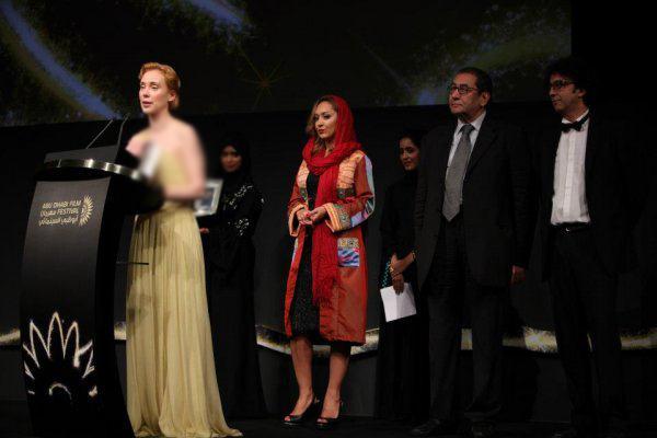 عکسهای نیکی کریمی در جشنواره کن