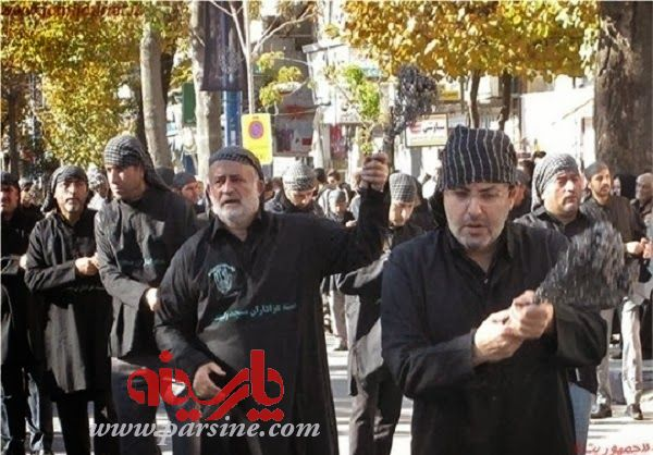 عکس/ زنجیرزنی دو نماینده مجلس