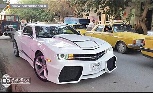عکس/ خودروی عجیب آمریکایی  در ایران