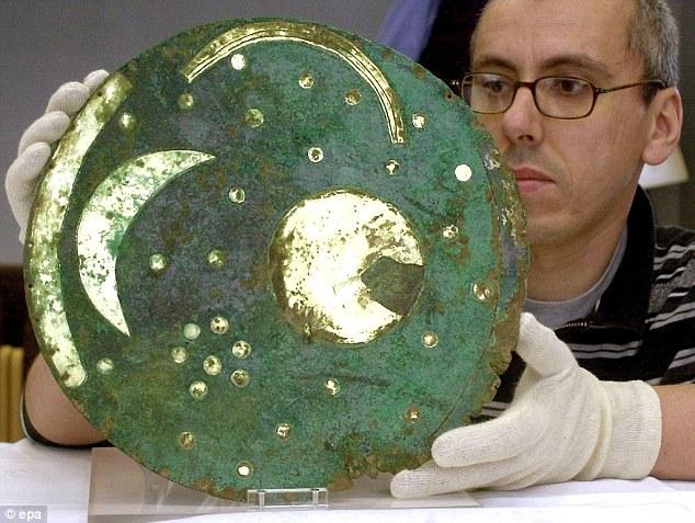 عکس/ باستانیترین نسخه طلاکوب آسمان