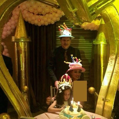 عکس/ جشن تولد ۷۰ میلیونی دختر دایی!