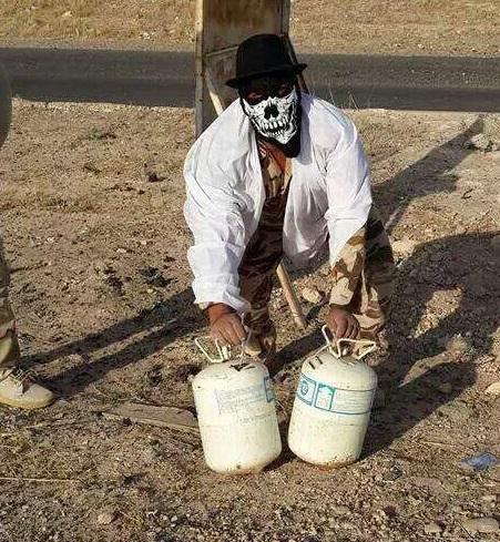 گنجشک مصری داعش به قتل رسید +عکس