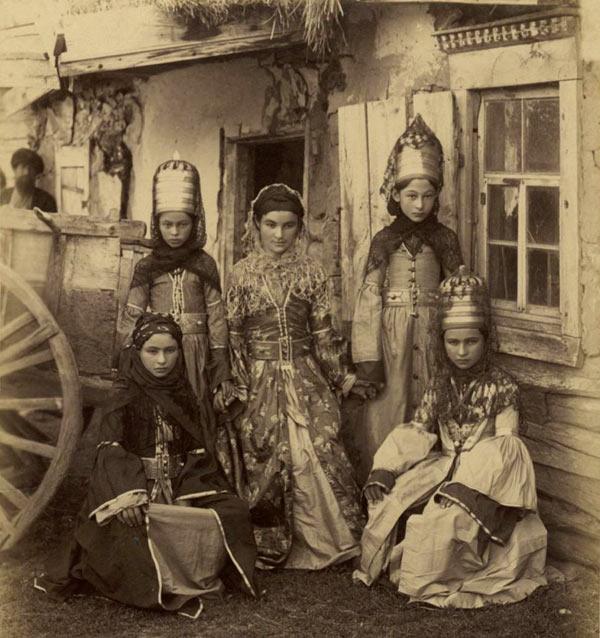 عکس/ دختران قفقازی 100سال پیش