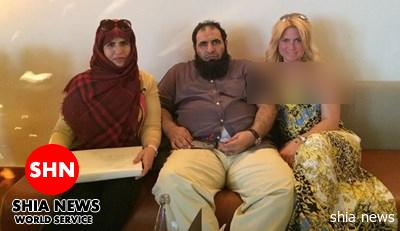 عکس زن ایتالیایی با مفتی سعودی!