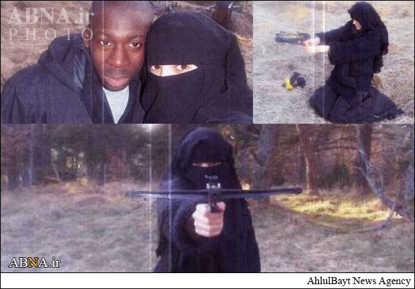 زنیکه پلیس فرانسه به دنبال اوست+عکس