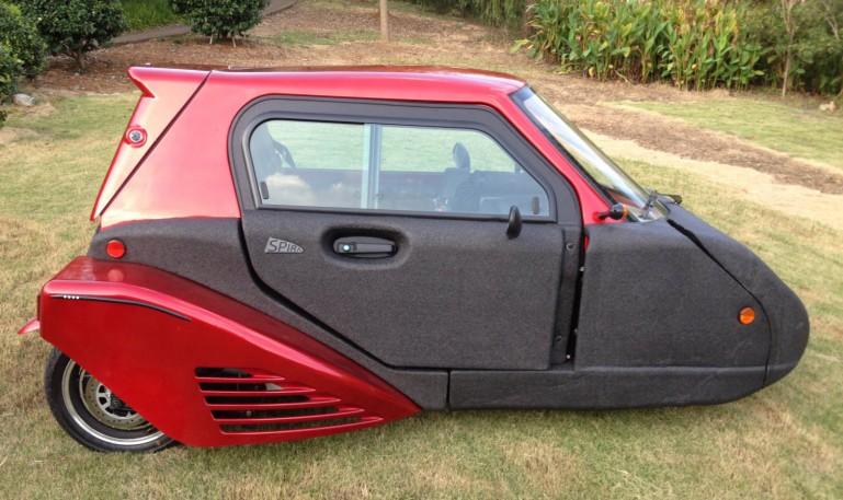 جدیدترین خودروی دوگانه سوز +تصاویر