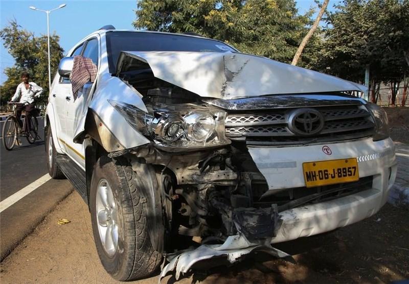 عکس/ خودروی آسیب دیده کری