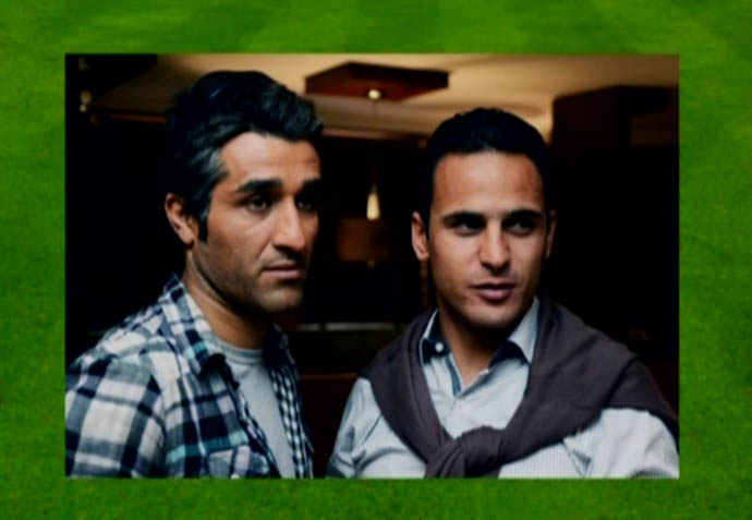 فوتبالیستهایی که بازیگر شدند +تصاویر