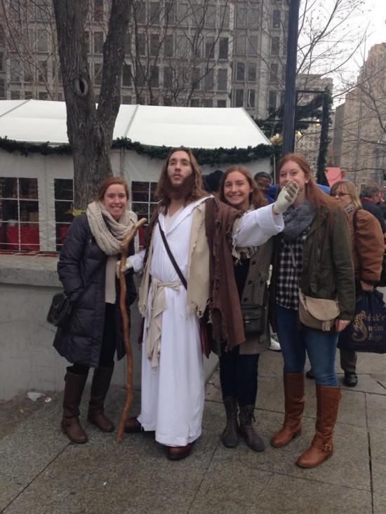 بیلبورد زنده عیسی مسیح +عکس