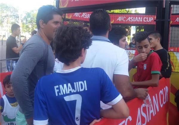 تصاویر/ هواداران ایرانی اطراف ورزشگاه