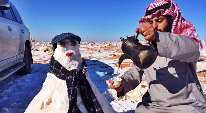 بیاعتنایی مردم عربستان به فتوای مفتیها +عکس