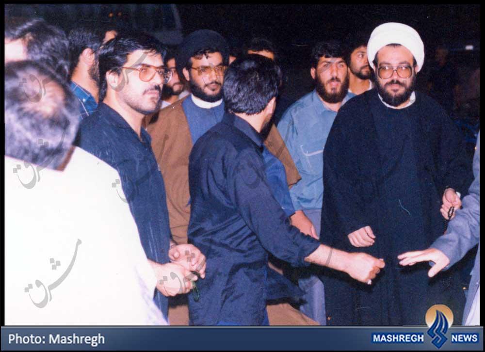 عکس منتشرنشده از دو دبیرکل حزب الله