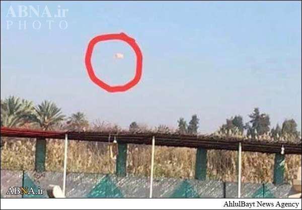 عکس/ فروریختن سلاح برای داعش