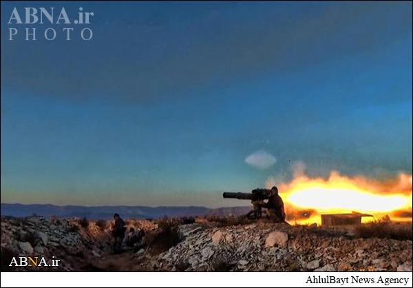 موشکهای ضدتانک آمریکایی داعش +عکس