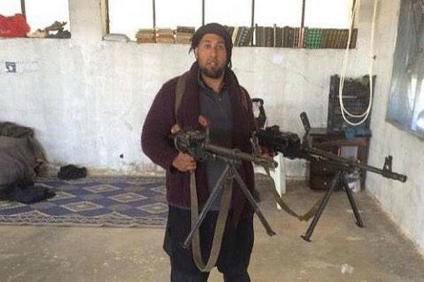 عکس/ ترس انگلیسی ها از فرمانده داعشی