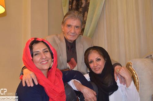 عکس/ مرجانه گلچین در کنار خواهر و عمو