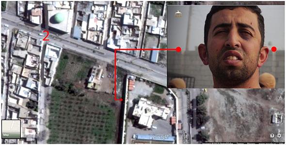 شناسایی محل سوزاندن خلبان اردنی+تصاویر