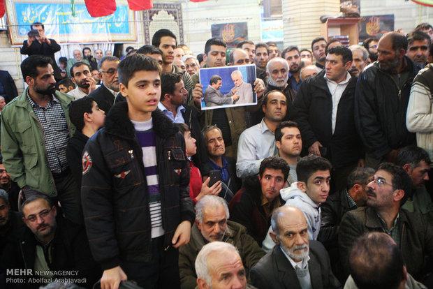 عکس/ احمدینژاد و رحیمی در شهرری
