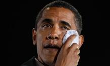اوبامای مظلوم و بیچاره! +عکس