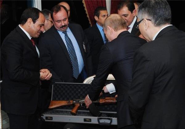 هدیه پوتین به السیسی +عکس