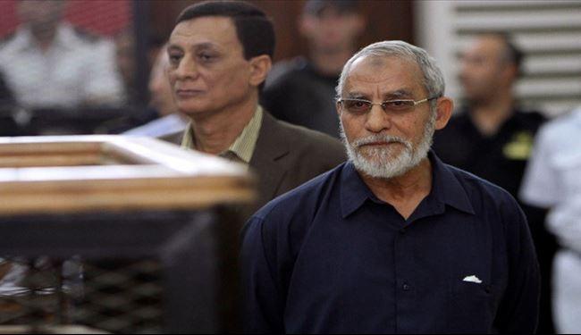 حکم اعدام رهبر اخوان لغو شد +عکس