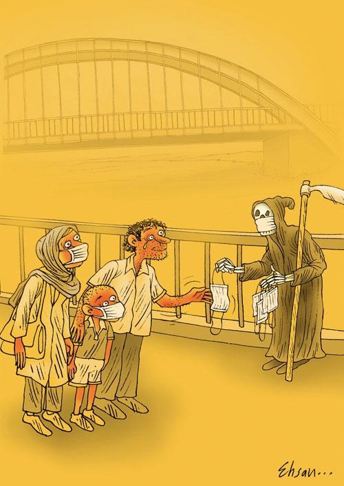 کاریکاتور/ اهواز!
