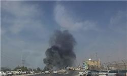 آتشسوزی در پارس جنوبی +عکس