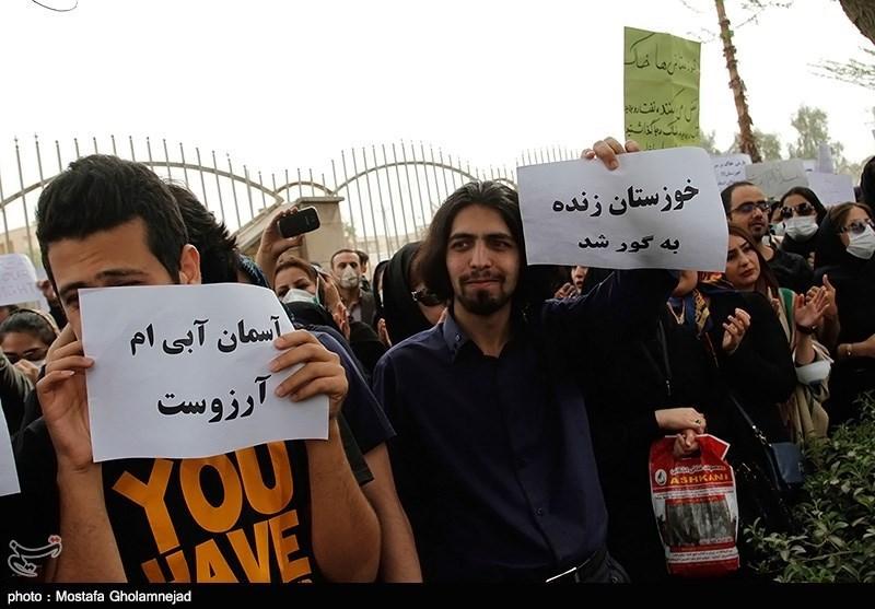 عکس/ خوزستان زنده به گور شد!