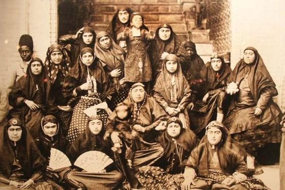 عکس/ 84 همسر سلطان صاحبقران