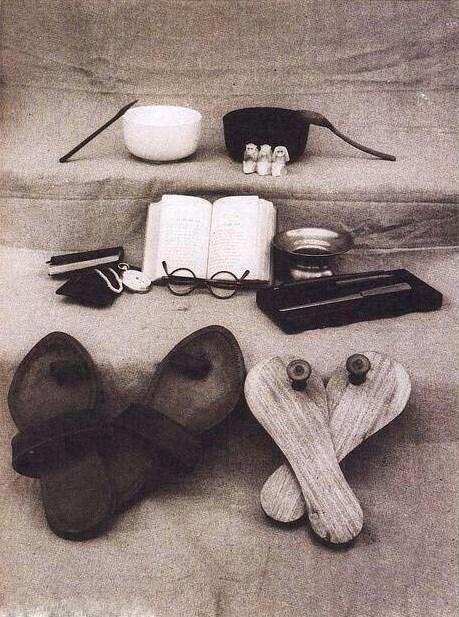 عکس/ دارایی گاندی پس از مرگ