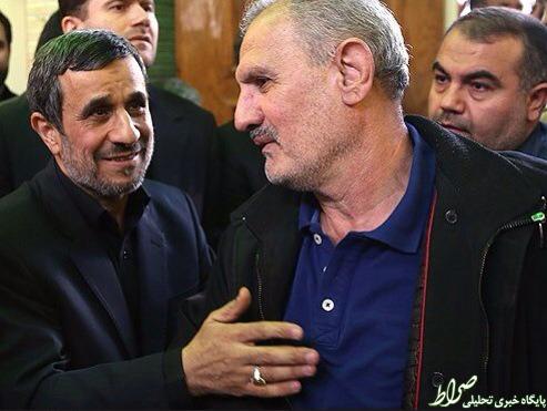 مراسم ختم مادر احمدی نژاد بیوگرافی خدامراد احمدی