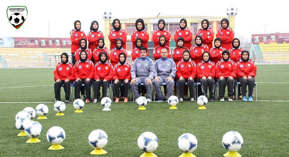 عکس/ زنان فوتبالی افغانستان