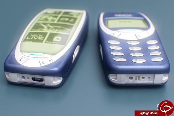 نصب ویندوز روی 3310 Nokia +عکس