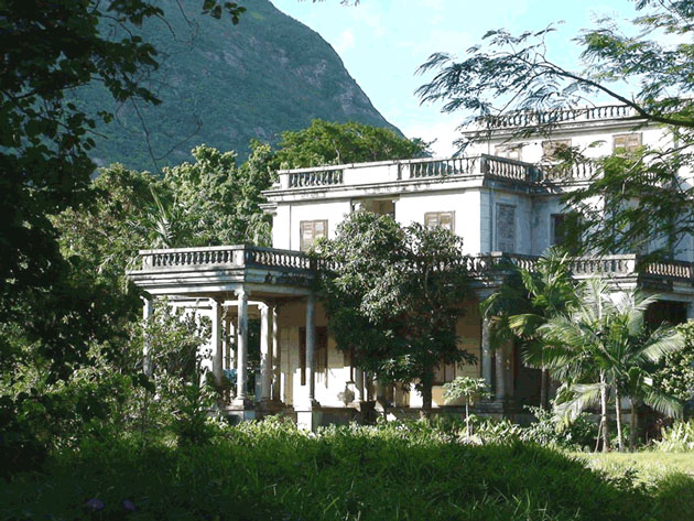عکس/ اقامتگاه رضا شاه در جزیره موریس