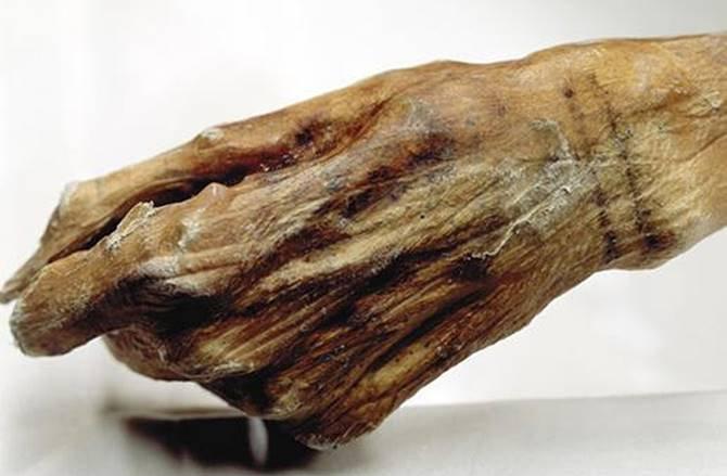 خالکوبی مومیایی 5300 ساله+عکس
