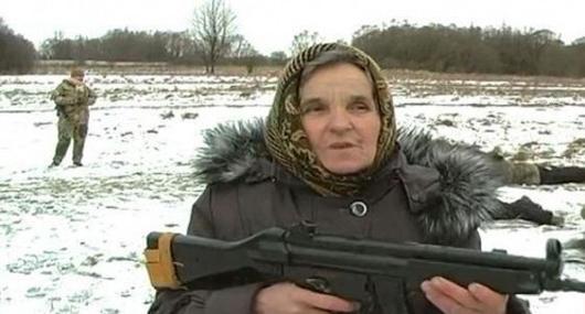 عکس/ جنگاورترین مادربزرگ دنیا
