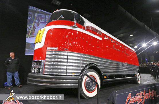 عکس/ اتوبوس 4 میلیون دلاری