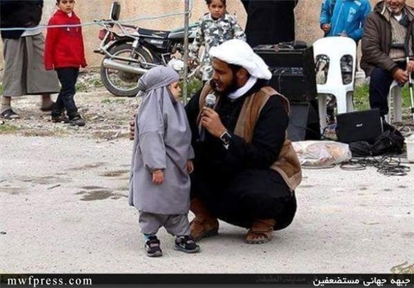 توبه دختر4ساله به دلیل تماشای باب اسفنجی +عکس