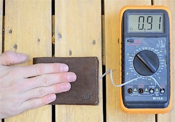شارژ کیف پول با گرمای بدن +تصاویر
