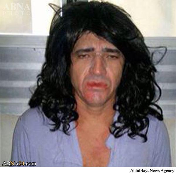 بازداشت یکی از عوامل کشتار اسپایکر با آرایش زنانه +عکس