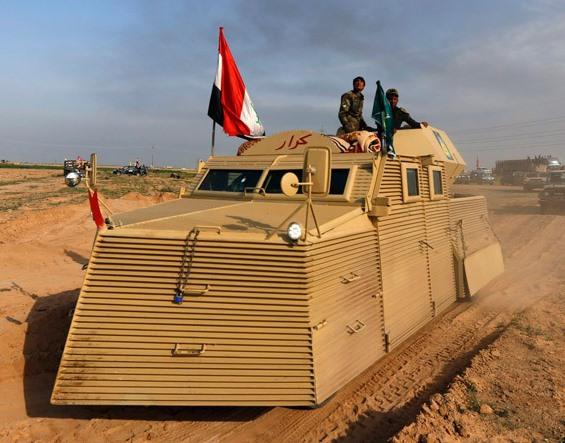 خودرو عجیب خودرو جالب ارتش عراق