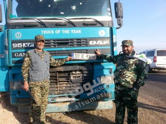 سرقت نفت عراق با تانکرهای ترکیه+عکس
