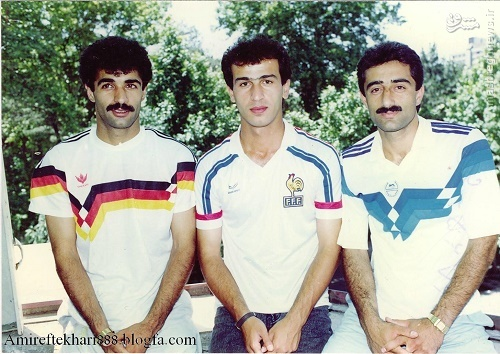 عکس/ ۳ هافبک کمنظیر فوتبال ایران